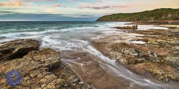 Noosa National park, Noosa Heads winter sunset