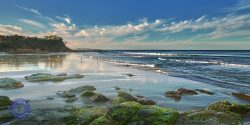 Coolum Beach Bays, Sunshine Coast, Queensland, Australia.
