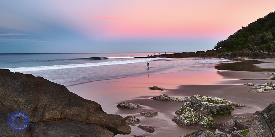 Coolum Beach Bays, Sunshine Coast, Queensland, Australia