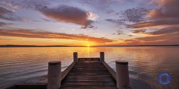 Lake Cootharaba, Noosa River. Queensland, Australia.